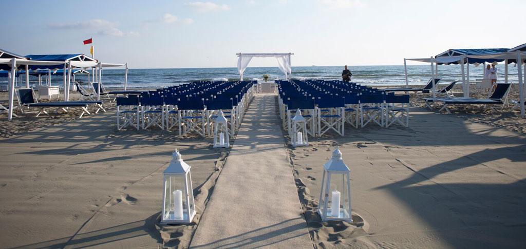 Matrimonio Spiaggia Forte Dei Marmi : Romantische hochzeiten beachparty albergo hermitage